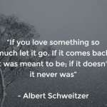 Letting Go Of Someone You Love Quotes