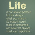 Life Is Not Perfect Quotes Twitter