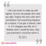 Life's Too Short Quotes Dr Seuss Facebook