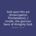 Lincoln Emancipation Proclamation Quotes