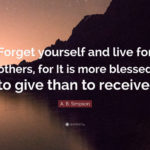 Live For Others Quotes Pinterest