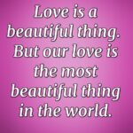 Love Is Such A Beautiful Thing Quotes Facebook