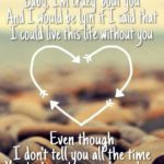 Love Quotes and Sayings from Songs
