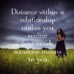 Lovers Distance Quotes