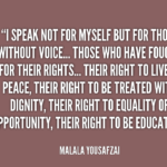 Malala Yousafzai Quotes About Equality