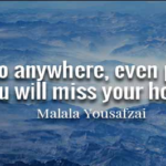 Malala Yousafzai Quotes About Home