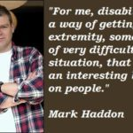 Mark Haddon Quotes Pinterest