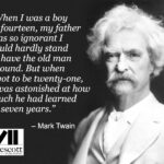 Mark Twain Quote About His Father Facebook