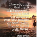 Mark Twain Quotes Travel