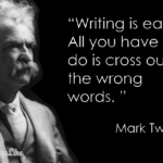 Mark Twain Writing Quotes