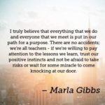 Marla Gibbs Quotes About Trust