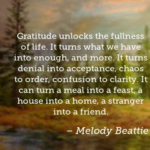 Melody Beattie Quotes About Thankful