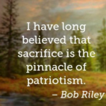 Memorial Day Quotes by Bob Riley