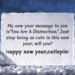 Message For Happy New Year 2021