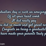 Message For Parents Graduation Twitter