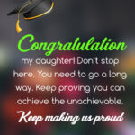 Message To My Daughter On Graduation Day Facebook