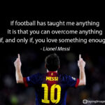 Messi Motivational Quotes Pinterest
