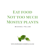 Michael Pollan Quote Eat Food Not Too Much Tumblr