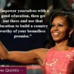 Michelle Obama Education Quotes Twitter