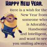 Minion New Year Quotes Facebook