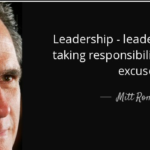 Mitt Romney Quotes About Leadership