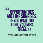 Morning Quotes by William Arthur Ward