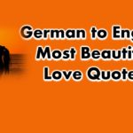 Most Beautiful German Quotes With Translation