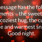 Most Romantic Good Night Message For Her Tumblr