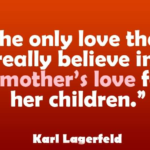Mother Love Quotes For Her Children