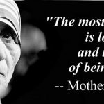Mother Teresa Helping Quotes