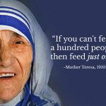 Mother Teresa Quotes Helping