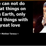 Mother Teresa Quotes about Helping