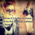 Moving On Quotes For Girls Tumblr