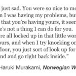 Murakami Quotes Norwegian Wood Tumblr