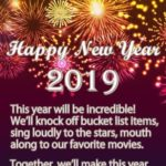 New Year 2019 Images With Quotes Facebook