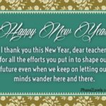 New Year Quotes For Teachers Facebook