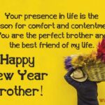 New Year Wishes For Brother