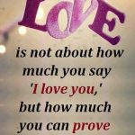 Nice Quotes about Love in English