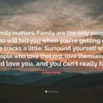 Only Family Matters Quotes Pinterest