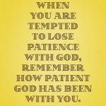 Patience Bible Quotes