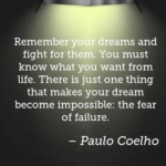 Paulo Coelho Quotes About Dreams