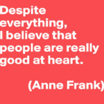People Mind Quotes by Anne Frank