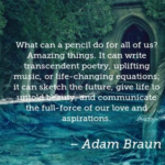 Poetry Quotes by Adam Braun