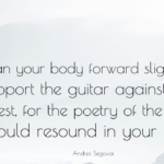 Poetry Quotes by Andres Segovia