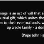 Pope John Paul II Quotes About Anniversary