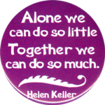 Quotes About Alone by Helen Keller