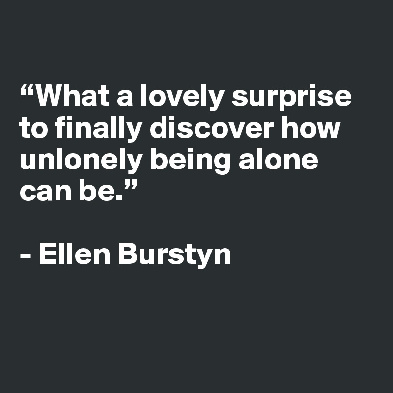 Quotes About Alone