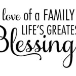 Quotes About Being Blessed With Family Tumblr