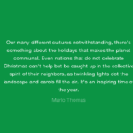 Quotes About Christmas by Marlo Thomas