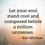 Quotes About Cool by Walt Whitman